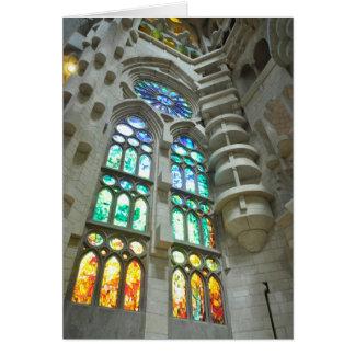 Cartes Église de Sagrada Familia de La
