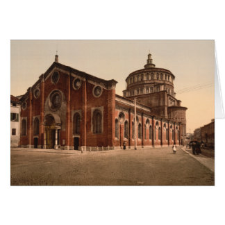 Cartes Église de St Mary l'aimable, Milan, Italie