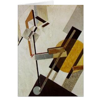 Cartes EL Lissitzky- Proun 19D