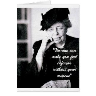 Cartes Eleanor Roosevelt - personne peut vous inciter à
