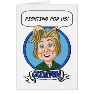 Cartes Élection 2016 de Hilary Clinton