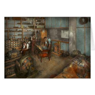 Cartes Électricien - cours 1915 d'électrotechnique