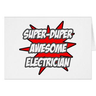 Cartes Électricien impressionnant superbe de Duper
