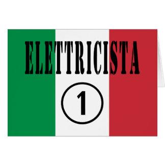 Cartes Électriciens italiens : L'ONU d'Elettricista