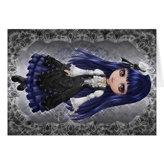 Cartes Elegant Gothic Aristocrat