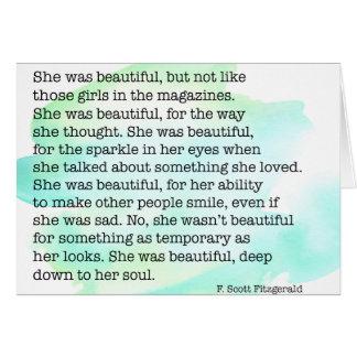 Cartes Elle était belle