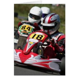 Cartes Emballage d'action de sport automobile de minimax