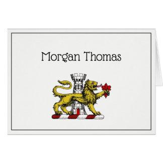 Cartes Emblème C de Tower Fleur de Lis Crest de lion