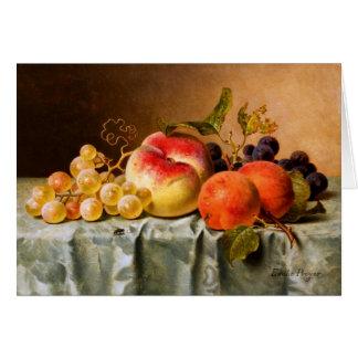 Cartes Emilie Preyer : Fruits avec la mouche