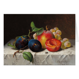 Cartes Emilie Preyer : Fruits et mouche