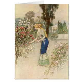 Cartes Emily dans le jardin -
