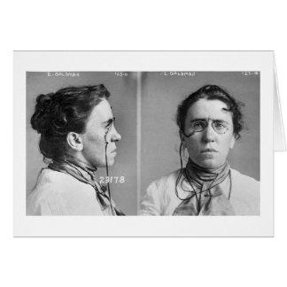 Cartes Emma Goldman - anarchiste, 1911