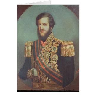 Cartes Empereur de Pedro II du Brésil