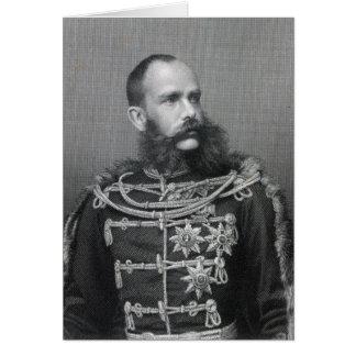 Cartes Empereur Franz Joseph I de l'Autriche