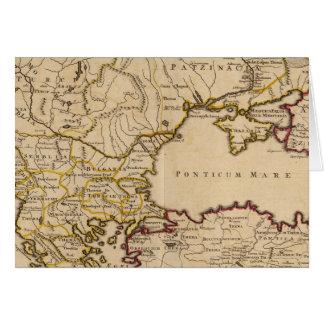 Cartes Empire bizantin