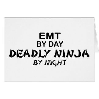 Cartes EMT Ninja mortel par nuit
