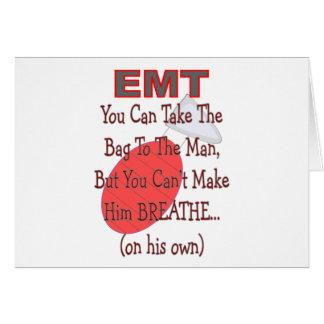 """Cartes EMT """"sac idées hilares de cadeau à homme"""""""