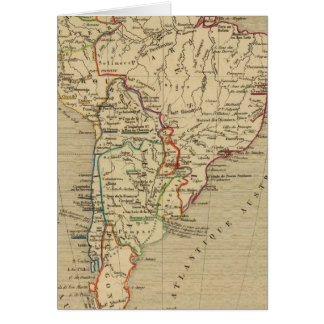 Cartes En 1840 d'Amerique Meridionale