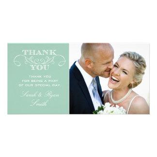 Cartes en bon état de Merci de photo de mariage Photocartes Personnalisées