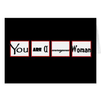 Cartes Encouragement de divorce vous êtes une femme