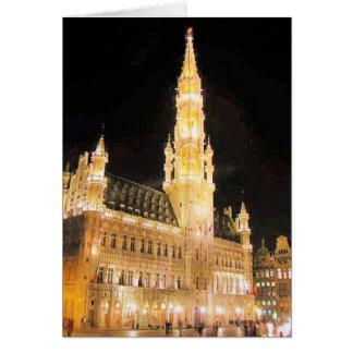 CARTES ENDROIT GRAND, BRUXELLES BELGIQUE
