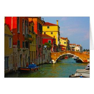 Cartes Endroits romantiques à Venise