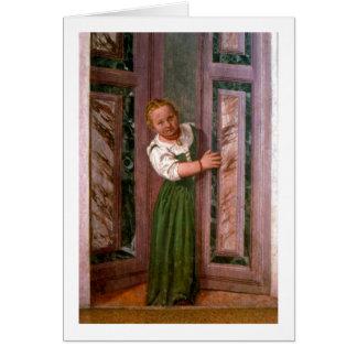 Cartes Enfant à la porte, du Sala un Crociera, à c.156