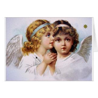 Cartes Enfants de prière d'anges