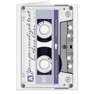 Cartes Enregistreur à cassettes - gris -