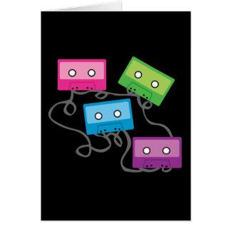 Cartes Enregistreurs à cassettes colorés