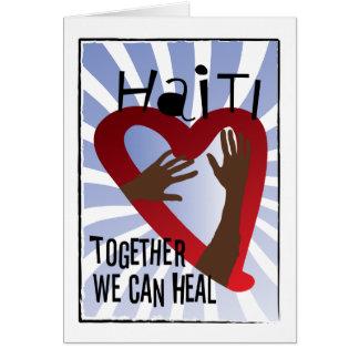 Cartes Ensemble nous pouvons guérir - l'appui Haïti