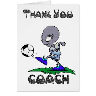 Cartes Entraîneur du football de Merci, entraîneur de