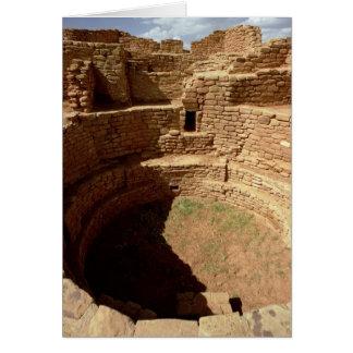 Cartes Entrée à un Kiva, construit siècles de c.11th-14th