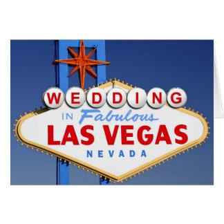 Cartes Épouser à Las Vegas
