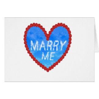 Cartes épousez-moi proposition