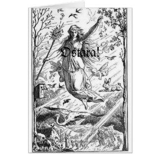 Cartes Équinoxe de ressort d'Ostara