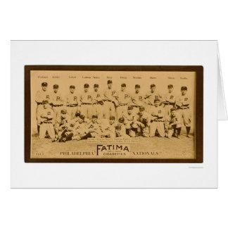 Cartes Équipe 1913 de Philadelphia Phillies