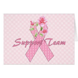 Cartes Équipe de soutien de cancer du sein