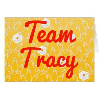 Cartes Équipe Tracy