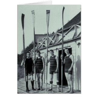 Cartes Équipe vintage d'aviron