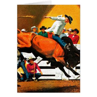 Cartes Équitation de Taureau par Fred Ludekens