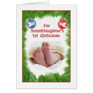 Cartes Ęr Noël de la petite-fille