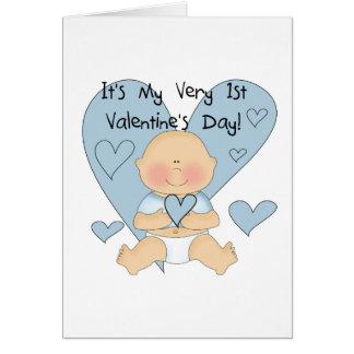 Cartes Ęrs T-shirts et cadeaux de Valentine de garçon