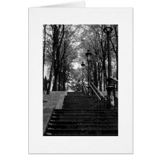 Cartes Escalier de Montmartre