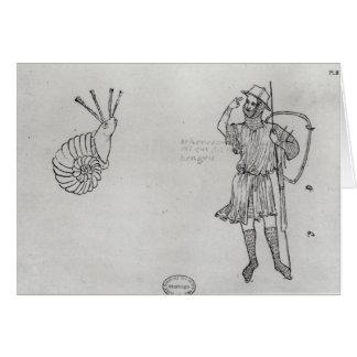 Cartes Escargot Fol.2 et soldat hongrois