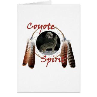 Cartes Esprit de coyote
