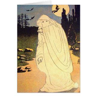 Cartes Esprit de lune de batte de sorcière de fantôme