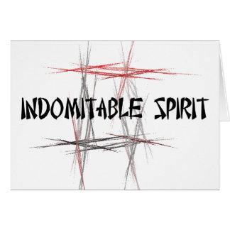 Cartes Esprit invincible de principes d'arts martiaux