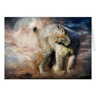 Cartes Esprit Lynx-Silencieux ArtCard