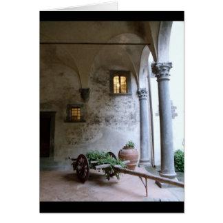 Cartes Établissement vinicole toscan, Italie